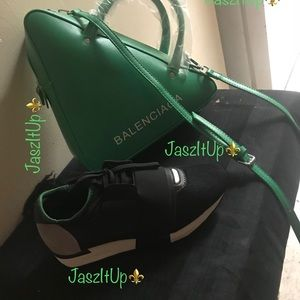 Handbag and sneakers (Balenciaga)